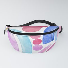 purple rainbow Fanny Pack