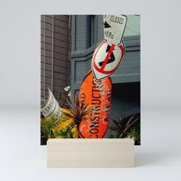 That's The Signpost Up Ahead... Mini Art Print