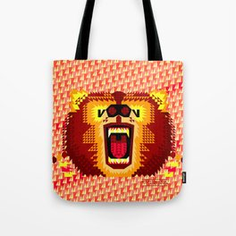Geometric Bear 2012 Tote Bag