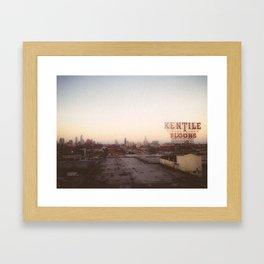 Brooklyn View Framed Art Print