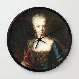Maria Theresa before She Was Empress  Wall Clock