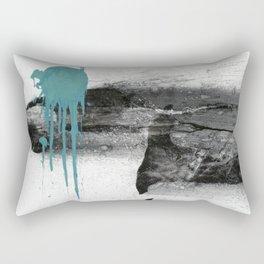 Discrete speech Rectangular Pillow