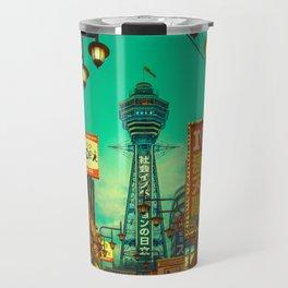 Osaka Nights - Shinsekai, New World / Liam Wong Travel Mug