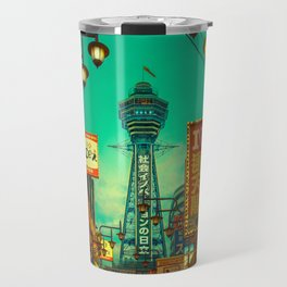 Osaka Nights - Shinsekai, New World / Liam Wong Travel Mug