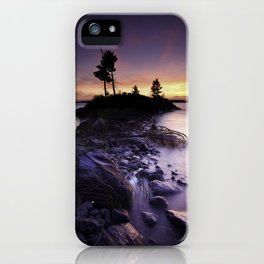 Separation Point iPhone Case