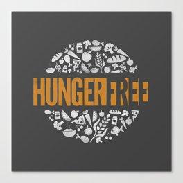 HungerFree Canvas Print