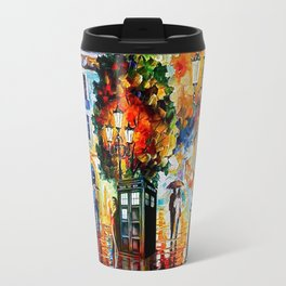 Tardis In The City Travel Mug