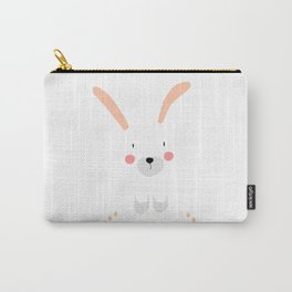 Bunny white Carry-All Pouch