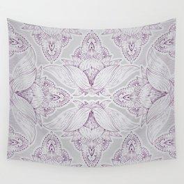 Flower Mandala 11 Wall Tapestry