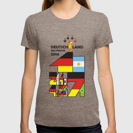 DEUTSCHLAND WELTMEISTER 2014. GERMANY WORLD CHAMPIONS 2014 T-shirt