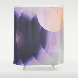 Ultraviolet Impulses Shower Curtain