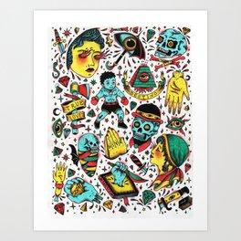 Varios 2. Art Print