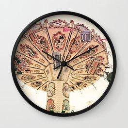 Happy Swinging Wall Clock