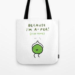 Happy Pea Tote Bag