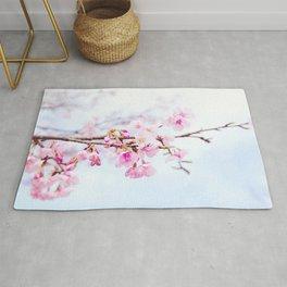Japanese cherry-blossom tree, 'Oh-kanzakura' Rug