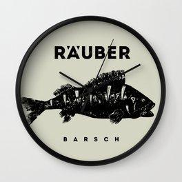 Barsch / Perch Wall Clock