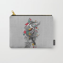 """""""THE WOODPECKER FOREST """" Carry-All Pouch"""