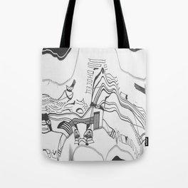 Russian Constructivism Scan Tote Bag