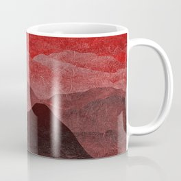 Through hilly lands and hollow lands - Red option Coffee Mug