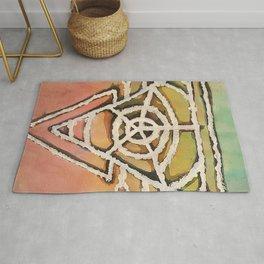 Geometric Portal Rug