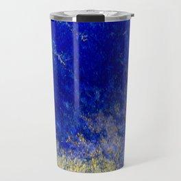 Blue and Gold #3 Travel Mug