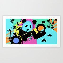 Hyper Panda! Art Print