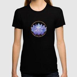 Violet Zen Lotus T-shirt