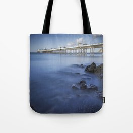 Llandudno Pier Tote Bag