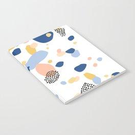 Terrazzo No.1 in Classic Blue  Notebook