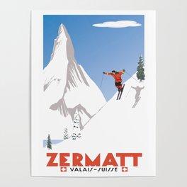 Zermatt, Valais, Switzerland Poster