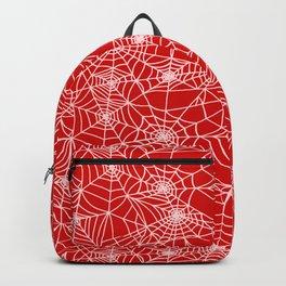 Blood Red Cobwebs Backpack
