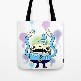 Spooky Man Tote Bag