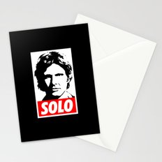 Obey Han Solo (solo text version) - Star Wars Stationery Cards