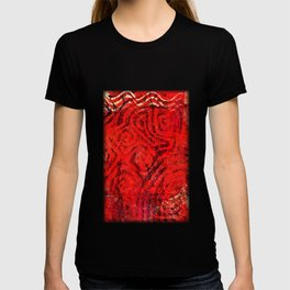 Caged fire T-shirt