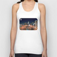 baltimore Tank Tops featuring Baltimore by Andrew Mangum