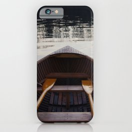 No where to row iPhone Case