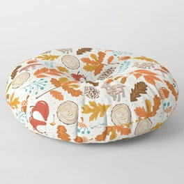 Autumn Woods Floor Pillow