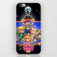 earthbound iPhone & iPod Skins featuring Welcome to Earthbound by kichisu