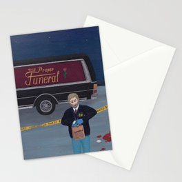 The Nightshift Stationery Cards