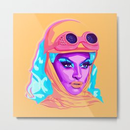 QUEEN MIZ CRACKER Metal Print
