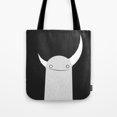 Moonster Black Tote Bag