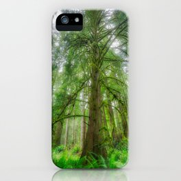 Ethereal Tree iPhone Case