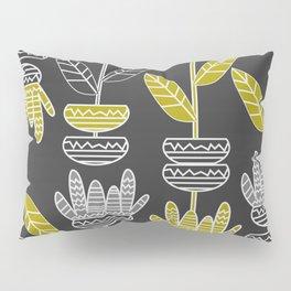 Abstract ornamental plants Pillow Sham