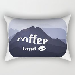 Coffee highland - I love Coffee Rectangular Pillow