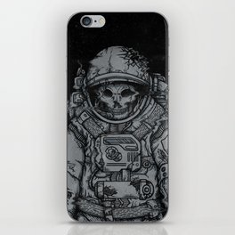 forgotten astronaut iPhone Skin