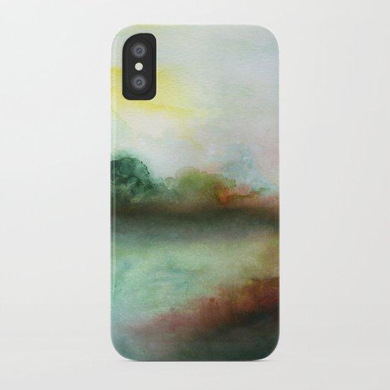 Mourning Morning iPhone Case