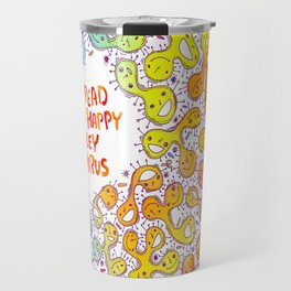 Happy Virus Travel Mug