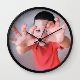 Shy Jonah Wall Clock