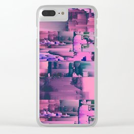 Waved Clear iPhone Case