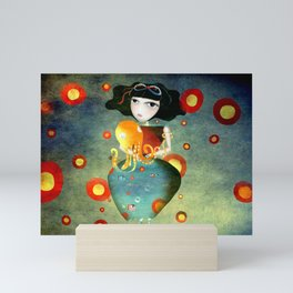 Hold on a little more Mini Art Print